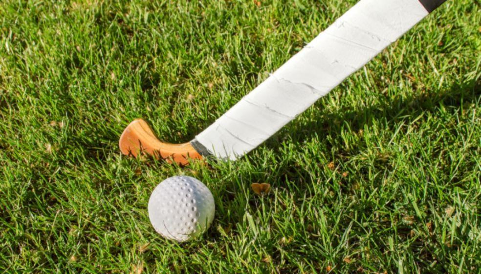 Women's hockey stick and ball